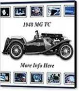 1948 Mg Tc Canvas Print