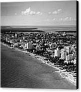 1948 Miami Beach Florida Canvas Print