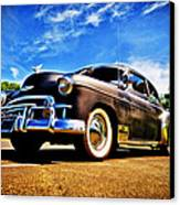 1949 Chevrolet Deluxe Canvas Print by motography aka Phil Clark