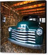 1950 Chevy Truck Canvas Print by Debra and Dave Vanderlaan
