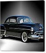 1950 Oldsmobile 88 Deluxe Club Coupe I Canvas Print by Dave Koontz