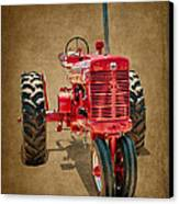 1950s Era International Harvester Tractor E108 Canvas Print by Wendell Franks