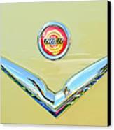 1951 Chrysler New Yorker Convertible Emblem Canvas Print by Jill Reger