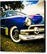 1951 Ford Custom Canvas Print