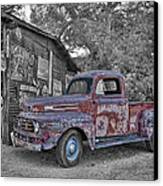 1951 Ford F-1 Canvas Print by Robert Jensen