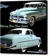1951 Mercury Come And Going Canvas Print by Jack Pumphrey