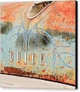 1954 Buick Special Hood Ornament Canvas Print by Jill Reger