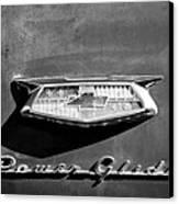 1954 Chevrolet Power Glide Emblem Canvas Print by Jill Reger