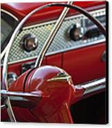 1955 Chevrolet Belair Nomad Steering Wheel Canvas Print