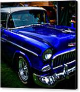 1955 Chevy Bel Air Canvas Print by David Patterson