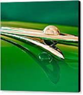 1955 Packard Clipper Hood Ornament 3 Canvas Print by Jill Reger