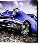 1955 Pontiac Safari Canvas Print by motography aka Phil Clark