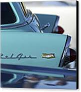 1956 Chevrolet Belair Nomad Rear End Canvas Print by Jill Reger