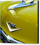 1956 Chevrolet Hood Ornament 3 Canvas Print