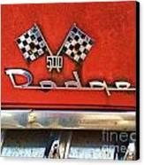 1956 Dodge 500 Series Photo 8b Canvas Print by Anna Villarreal Garbis