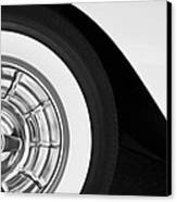 1957 Corvette Wheel Canvas Print by Jill Reger