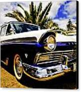 1957 Ford Custom Canvas Print by motography aka Phil Clark