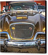 1957 Studebaker Golden Hawk  Canvas Print by Rich Franco