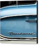 1958 Chevrolet Brookwood Station Wagon Canvas Print by Carol Leigh