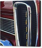 1958 Edsel Pacer Grille 2 Canvas Print