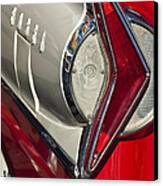 1958 Edsel Wagon Tail Light Canvas Print by Jill Reger
