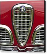 1959 Alfa Romeo Giulietta Sprint Grille Canvas Print by Jill Reger
