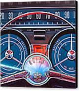 1959 Buick Lesabre Steering Wheel Canvas Print by Jill Reger