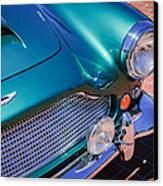1960 Aston Martin Db4 Series II Grille Canvas Print by Jill Reger