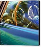 1960 Aston Martin Db4 Series II Steering Wheel Canvas Print