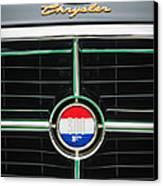 1960 Chrysler 300f Convertible Grille Emblem Canvas Print