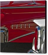 1960 Edsel Taillight Canvas Print by Jill Reger