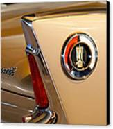 1960 Plymouth Fury Convertible Taillight And Emblem Canvas Print