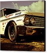 1962 Ford Galaxie 500 Canvas Print by Phil 'motography' Clark