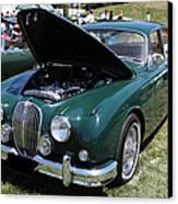 1962 Jaguar Mark II 5d23332 Canvas Print by Wingsdomain Art and Photography