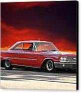 1963 Ford Galaxie 427 Canvas Print by Dave Koontz