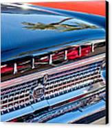 1963 Ford Galaxie 500xl Taillight Emblem Canvas Print