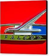 1964 Ford Falcon Emblem Canvas Print