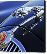 1964 Jaguar Mk2 Saloon Canvas Print by Jill Reger