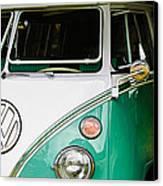 1964 Volkswagen Vw Samba 21 Window Bus Canvas Print
