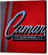 1966 Chevy Camaro Canvas Print