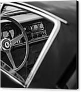 1967 Ferrari 275 Gtb-4 Berlinetta Steering Wheel Canvas Print by Jill Reger