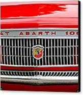1967 Fiat Abarth 1000 Otr Grille Canvas Print by Jill Reger