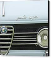 1968 Alfa Romeo Giulia Super Grille Canvas Print