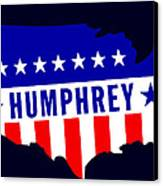 1968 Vote Humphrey For President Canvas Print by Historic Image