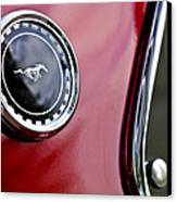 1969 Ford Mustang Mach 1 Canvas Print by Jill Reger