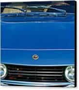 1971 Fiat Dino 2.4 Grille Canvas Print by Jill Reger