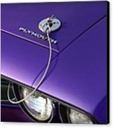 1971 Plum Crazy Purple Plymouth 'cuda 440 Canvas Print by Gordon Dean II