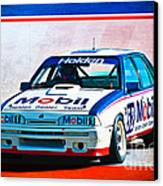 1987 Vl Commodore Group A Canvas Print by Stuart Row