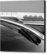 1947 Plymouth Hood Ornament Canvas Print