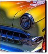1954 Chevy Bel Air Custom Hot Rod Canvas Print